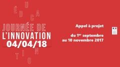 Journée nationale de l'innovation – Appel à projet