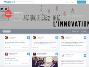 #eduinov – le hashtag des twitts sur l'innovation