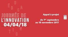Journée nationale de l'innovation 2018 – Découvrez les projets retenus !