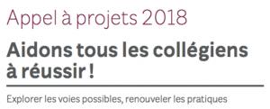 Aidons tous les collégiens à réussir – Appel à projets de la Fondation de France