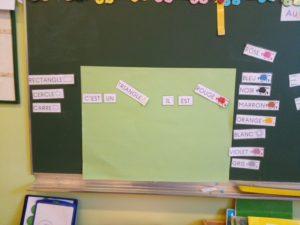 Ecole maternelle Aragon de Belfort – Des écrits courts en maternelle au quotidien