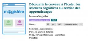 Découvrir le cerveau à l'école : les sciences cognitives au service des apprentissages