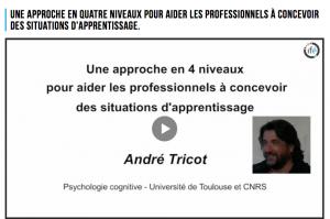 Quelques éléments de psychologie cognitive pour concevoir des situations d'apprentissages