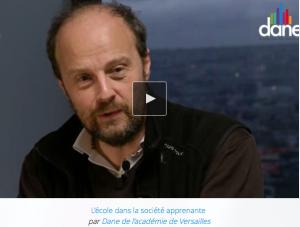 L'école dans une société apprenante – Entretien avec François Taddéi (DANE de l'académie de Versailles)