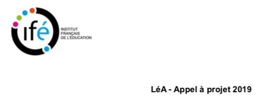 LéA (Lieux d'éducation Associés) : Appel à projet 2019