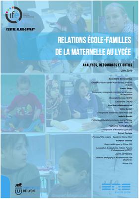 Relation Ecole-Familles : analyses, ressources et outils – Livret ressource de l'IFE