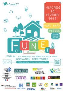 Forum des Usages Numériques Educatifs – Innovation, Territoires – FuneIT – Vesoul – 13 février 2019