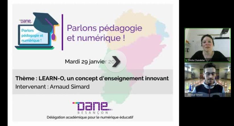 """""""Parlons pédagogie et numérique !"""" : LEARN-O, un concept d'enseignement innovant"""