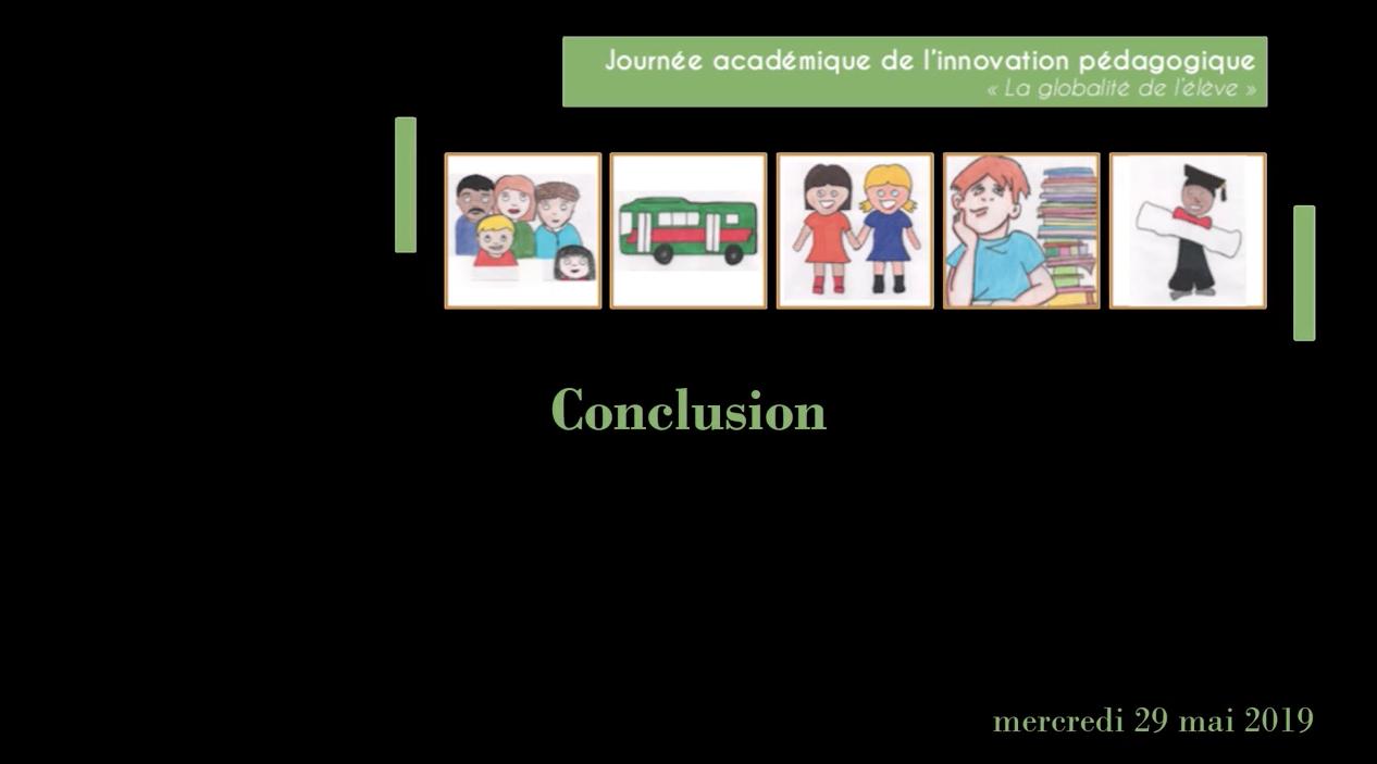 Journée académique de l'innovation – Revivez la conclusion de la journée proposée par Jérôme Saltet
