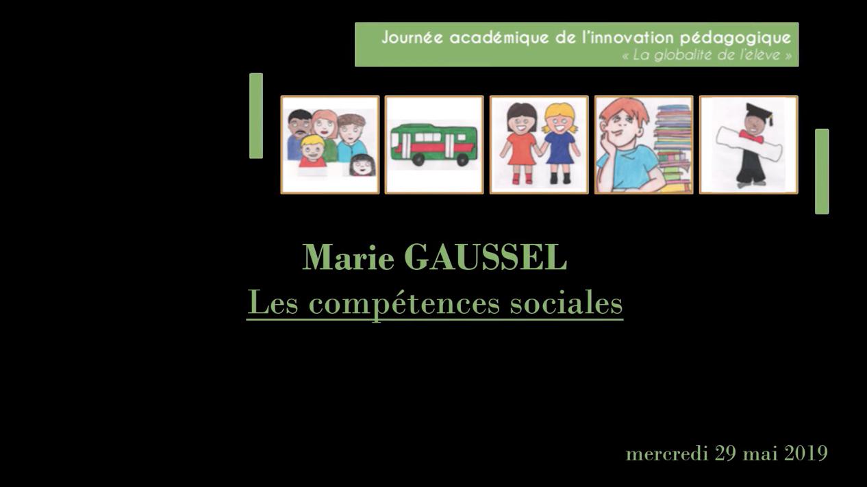 Journée académique de l'innovation – Revivez la conférence de Marie Gaussel