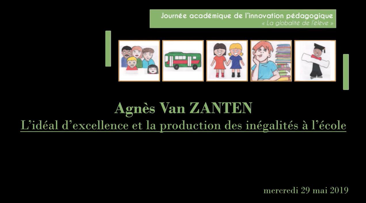 Journée académique de l'innovation – Revivez la conférence d'Agnès van Zanten