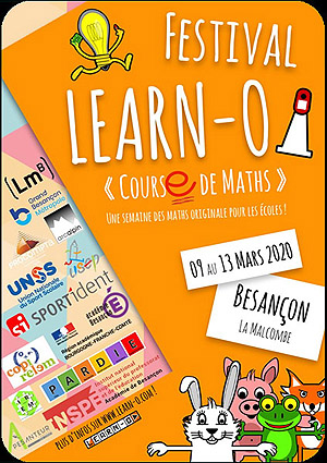 Festival LEARN-O du 9 au 13 mars 2020 à Besançon