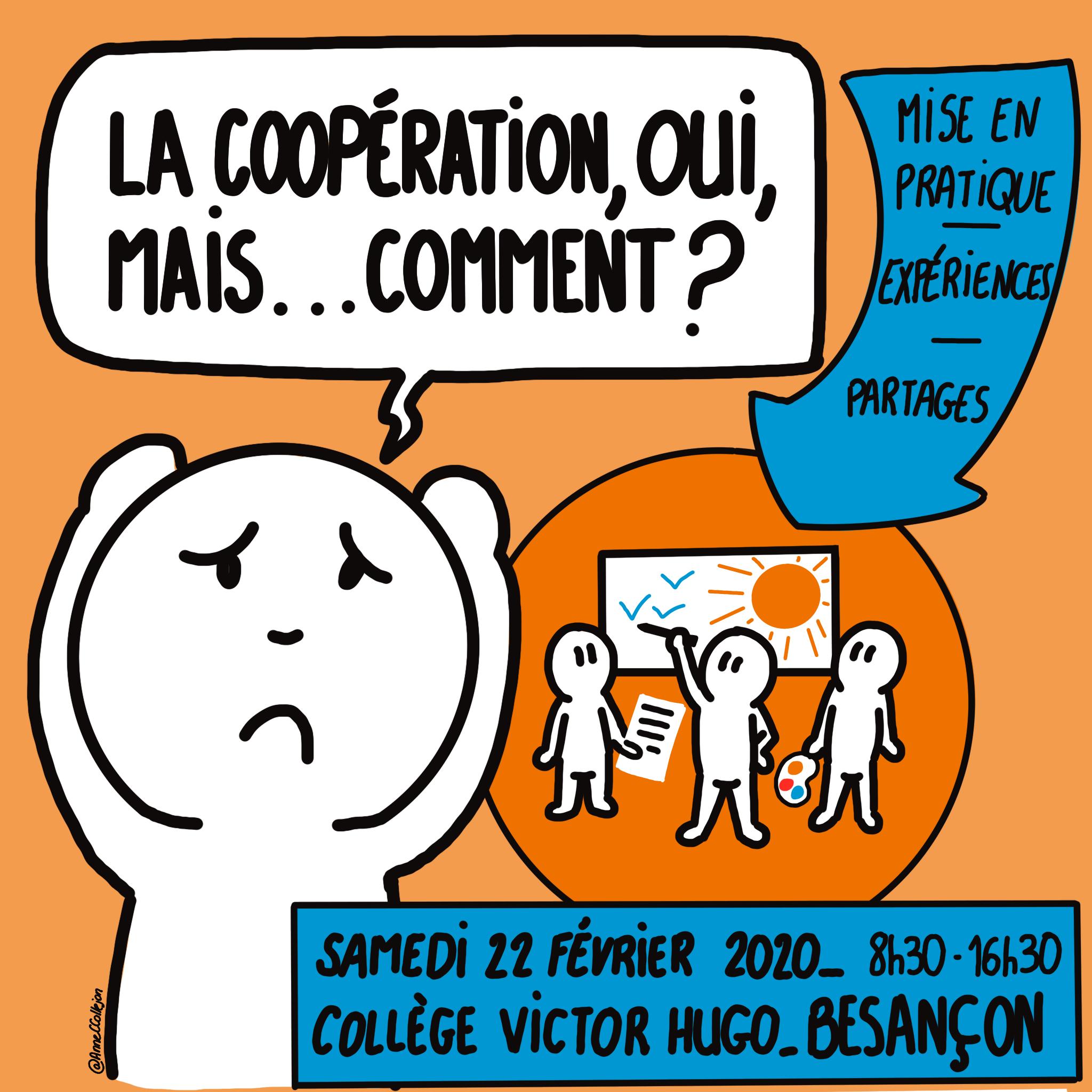 """""""La coopération, OUI, mais…COMMENT?"""" – Samedi 22 février 2020"""